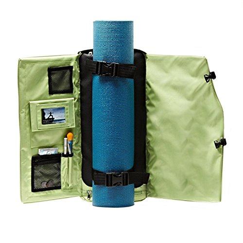 Yogasak Rucksack Style Tasche L grün