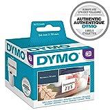 DYMO LW étiquettes autocollantes polyvalentes, 54mmx70mm, rouleau de 320étiquettes faciles à décoller, pour les étiqueteuses LabelWriter, authentique
