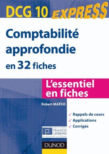Comptabilité approfondie DCG 10 - en 32...