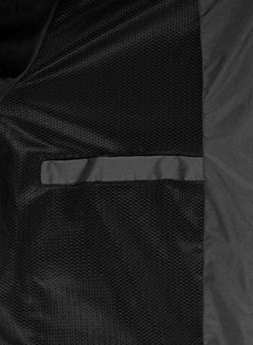 BLEND Mats Herren Windbreaker Übergangsjacke Kapuzenjacke Phantom Grey (70010)