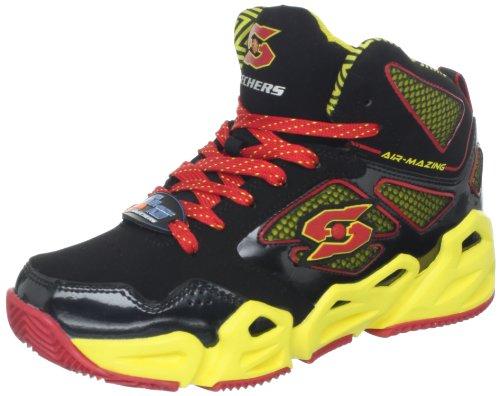 Skechers (SKEES) HoopzBankshot, Sneaker Bambini e Ragazzi Multicolore (Bkyr)