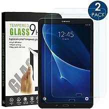 Samsung Galaxy Tab A 10.1 2016 Protector Pantalla Cristal (2 Pack), Simpeak Protector de Pantalla de Vidrio Templado Película templada Protector para Samsung Tab A 10.1'' 2016 (SM-T580 / T585)