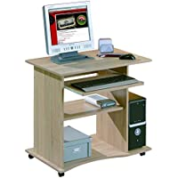 Links - Office 6 - Porta pc. Dim: 80x50x75 h cm. Col: Rovere. Mat: Legno massello.