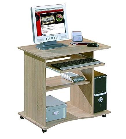 Links 19300030 Schreibtisch Büromöbel Bürotisch Computertisch Arbeitstisch Büro Sonoma