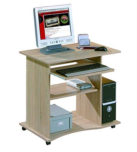 Links 19300030 Schreibtisch Büromöbel Bürotisch Computertisch Arbeitstisch Büro Sonoma Eiche