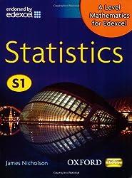 A Level Mathematics for Edexcel: Statistics S1 (Oxbox)