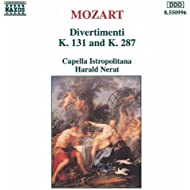 Mozart: Divertimenti, K. 131 And K. 287