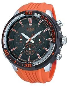 Pulsar Herren-Armbanduhr XL Pulsar X Analog Quarz Kautschuk PT3511X1