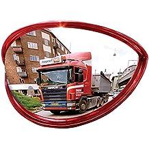 Miroir de sécurité grand angle - fixation universelle - 80 cm