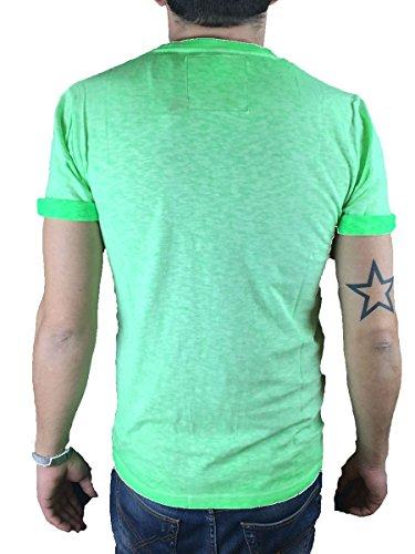 Superdry Herren T-Shirt O L Low Roller limette (404)