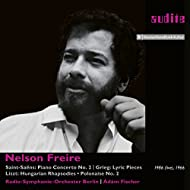 Nelson Freire plays Saint-Saëns' Piano Concerto No. 2 and Piano Works by Grieg & Liszt