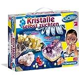 Clementoni - Juguete educativo de mineralogía (69247) (versión en alemán)