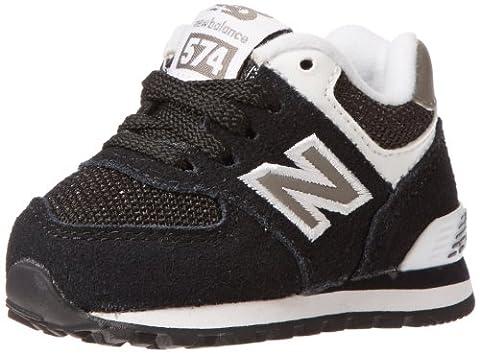New Balance - - Infant 574 Schuhe, Black, 27.5 EU