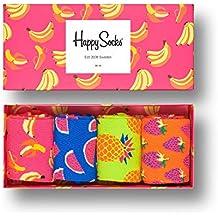 Happy Socks Exklusive bunte Premium Baumwolle Socken Geschenkbox für Männer und Frauen