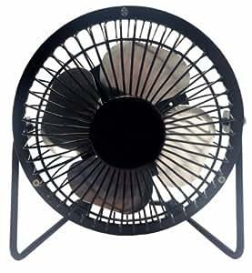 4 Mini Fan High Velocity Personal Office Fan Black Electric Fan Compact Design