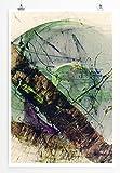 Somebody Loves Somebody - modernes abstraktes Bild Sinus Art - Bilder, Poster und Kunstdrucke