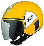 Studds Cub 07 SUS_C07OFH_YEWXL Open Face Helmet (Yellow, XL)