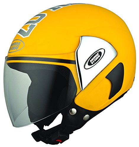 Studds Cub 07 SUS_C07OFH_YEWL Open Face Helmet (Yellow, L)