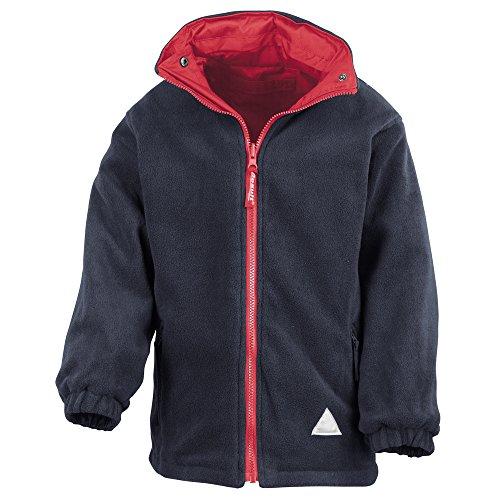 Result Junior/youth reversible StormDri 4000 fleece jacket Red/ Navy 2XS Youth Reversible Jacket