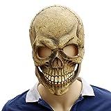 BESTOYARD Halloween cranio scheletro lattice maschere oggetti di scena terrore accessorio per la casa infestata di Halloween