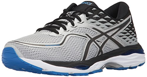 Asics Herren Gel-Cumulus® 19 (2E) Schuhe, 42.5 2E EU, Grey/Black/Directoire Blue (Gel-cumulus 9 Schuh)