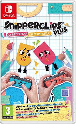 Snipperclips Plus: ¡A Recortar En Compañía!