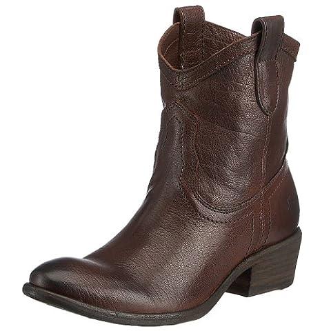 Frye Carson Shortie, Boots femme - Marron, 38.5 EU (8)