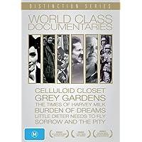 World Class Documentaries (6 Films) - 7-DVD Box Set ( The Celluloid Closet / Grey Gardens / The Times of Harvey Milk / Little Dieter Needs to Fly / Burden of Dr