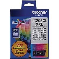 Brother Printer LC2053PKS Multi Pack Ink Cartridge, Cyan/Magenta/Yellow 3-Color