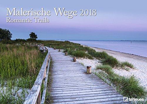 Malerische Wege 2018 - Wandkalender, Posterkalender, Spiralbindung  -  42 x 29,7 cm
