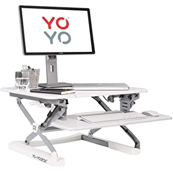 Yo Yo Desk Mini White Best Selling Height Adjustable