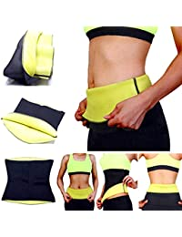 e0d378d1afd Frackkon Hot Body Shaper Slimming Belt Tummy Control Shapewear Stomach Fat  Burner Abdominal Sauna Suit Cincher Fat Cutter Tummy Tucker…
