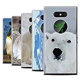 eSwish Gel TPU Hülle/Case für Razer Phone 2 / Pack 6pcs / Arktis Tiere Kollektion