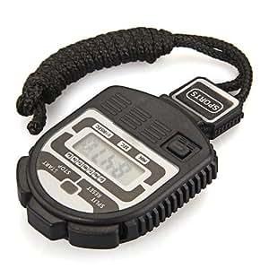 COLEMETER® Chronomètre Odomètre Compteur Numérique Timer Clock Alarme Temps Sport