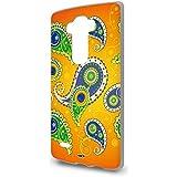 Handyschale Handycase für LG G Flex 2 - Paisley Orange