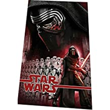 STAR WARS Kylo Rem TOALLA PLAYA EXCLUSIVA 100% ALGODÓN 140X70CM MOD: episodio VII y pack 3 calcetines de marca tiendadeleggings (ANTI-PRESION)