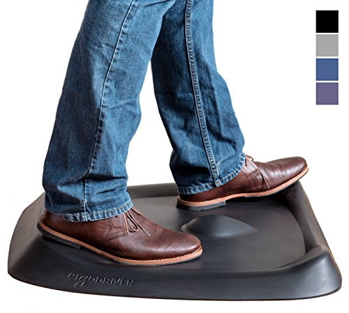 Topo by Ergodriven | The Not-Flat Standing Desk Anti-Fatigue Mat with...