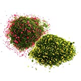 MagiDeal Mini Fruit Foliage Leaves Model for Railroad Scenery Model Tree DIY Parts - #G, as Described