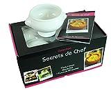 BCSA 589490 Mes entrate zuppe-Ciotola per minestra, in ceramica, colore: bianco, dimensioni: 16 x 33,5 x 20,5 cm