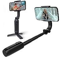 Feiyu-Tech [Offiziell] Vimble-ONE 1-Achsen-Handy-Stabilisator Selfie-Stick Stativ Bluetooth für iPhone und Android, Anti…