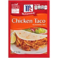 ‏‪McCormick USA Mix Chicken Taco Seasonings Sliced - 28 gm‬‏