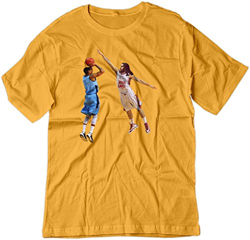 BSW  Herren T-Shirt Gr. Medium, Gold (Gm Basketball Gold)