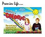 Rainbow Colours Livre d'apprentissage du piano facile et amusant Idéal pour débutants et enfants...