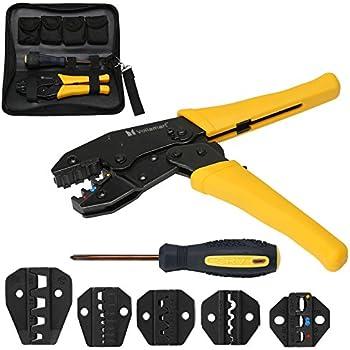 Laser 7002 Ratchet Crimping Tool-Supaseal Connectors-7002