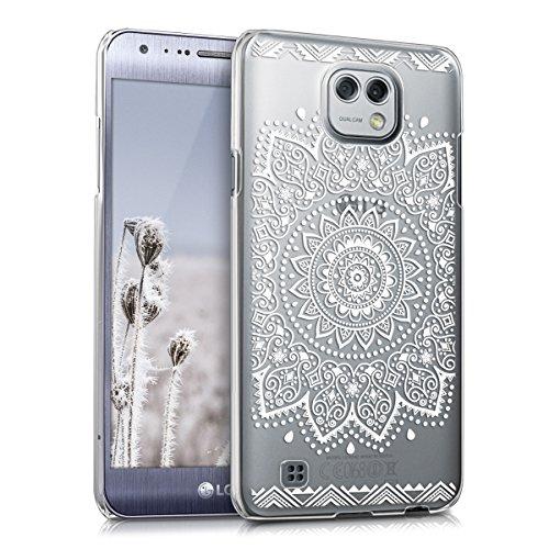 kwmobile LG X Cam Hülle - Handyhülle für LG X Cam - Handy Case in Weiß Transparent