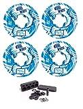 Ricta Wheels Whirlwinds 99a Skateboard-Räder, 54 mm, inkl. Kugellager