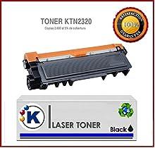 K TN2320 Tóner compatible para impresora Brother HL-L2300D - Impresora láser