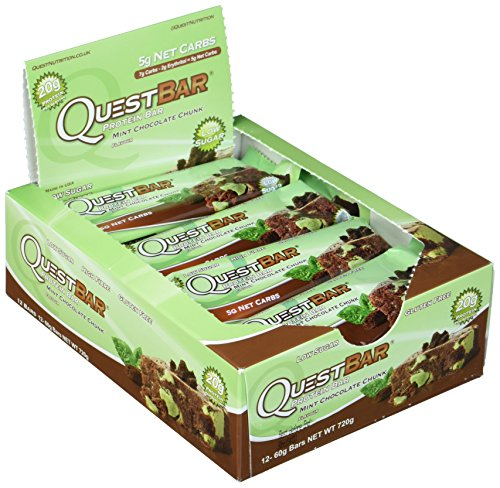 Quest Nutrition bars, Mint Chocolate Chunk, 60 g -
