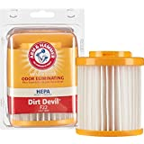 Arm & Hammer HEPA Vacuum Filter Dirt Devil F22, Model: 69122D