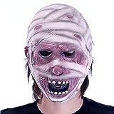 Máscara de Terror con máscara de Zombie de látex bioquímica para Disfraz de Monstruo para Fiesta de Halloween